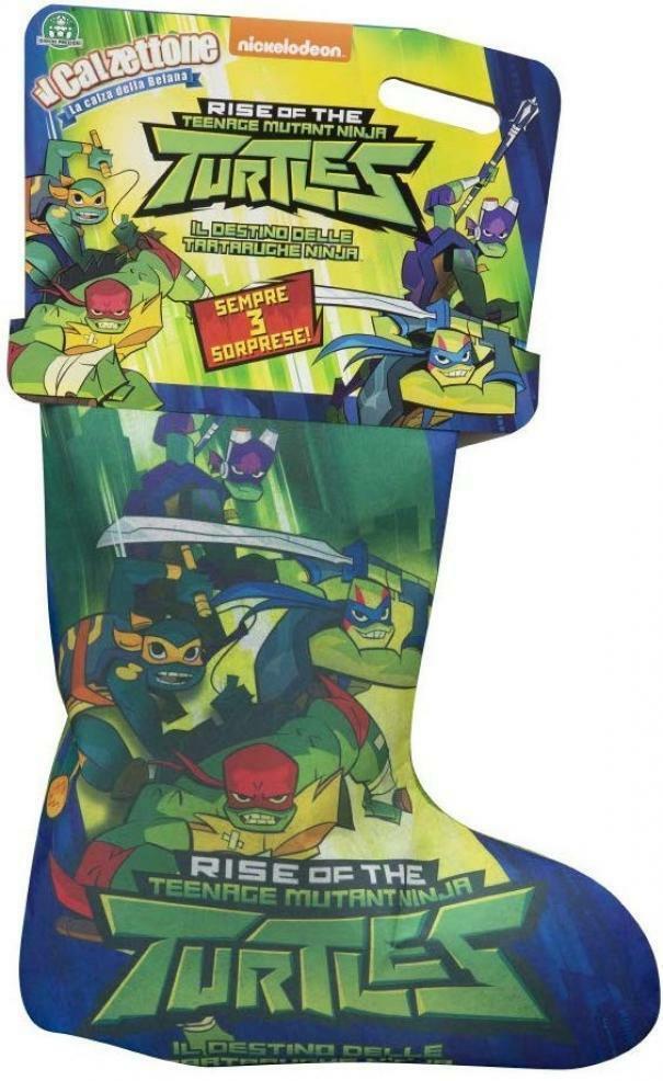 giochi preziosi calzettone turtles 2020