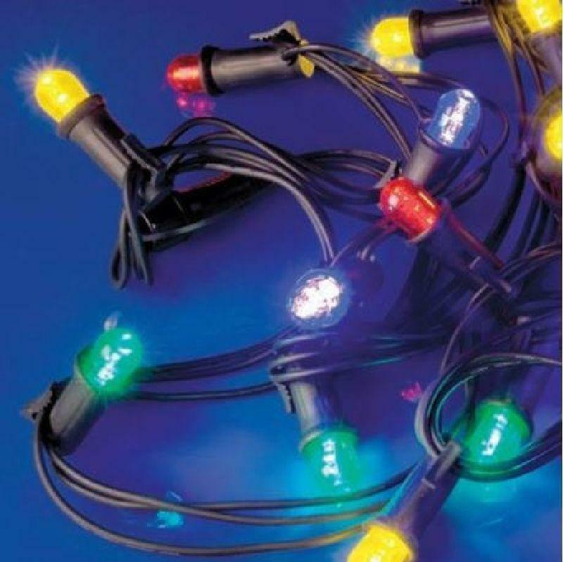 giocattoli festone prolungabile 20 lampade led rosse