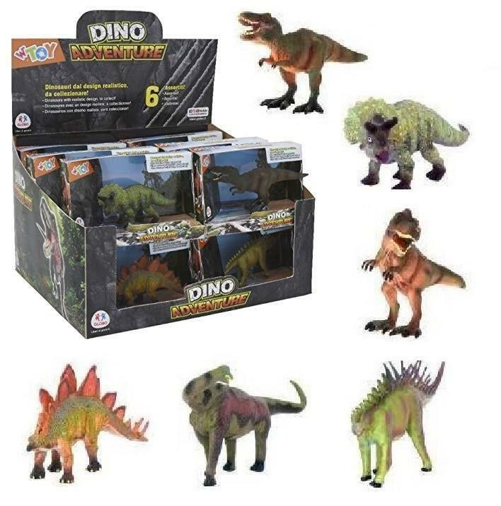 globo globo dino adventure dinosauri cm 15