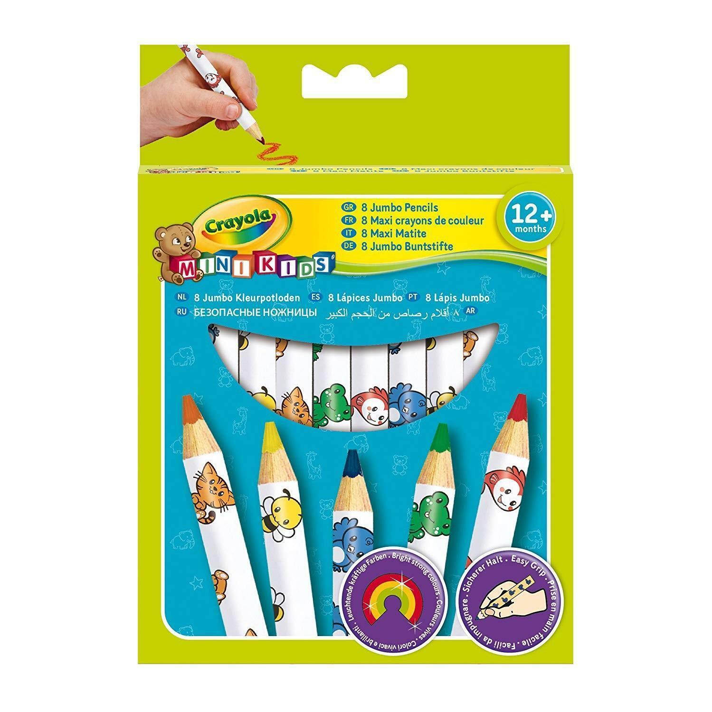 crayola 8 maxi matite