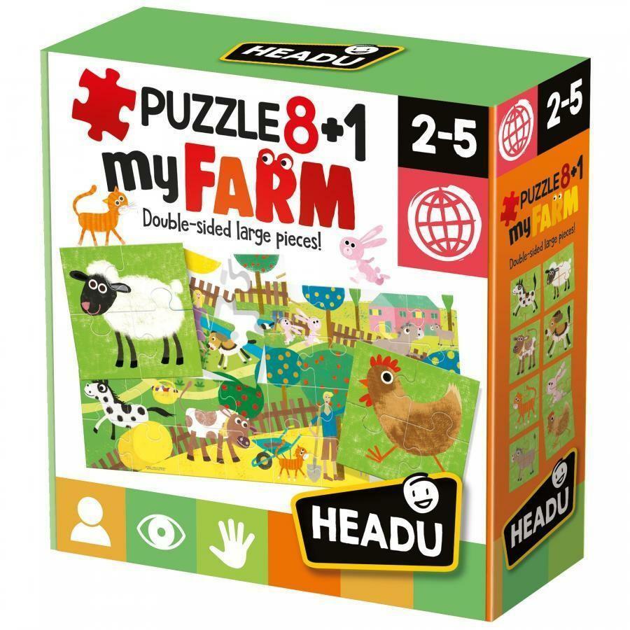 headu headu puzzle 8+1 my farm