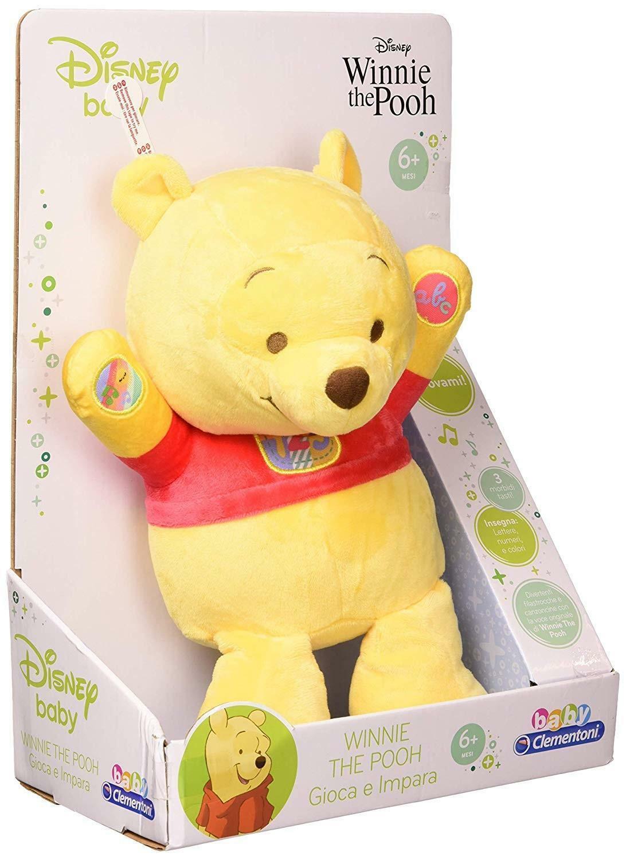 clementoni disney winnie the pooh gioca e impara 17305