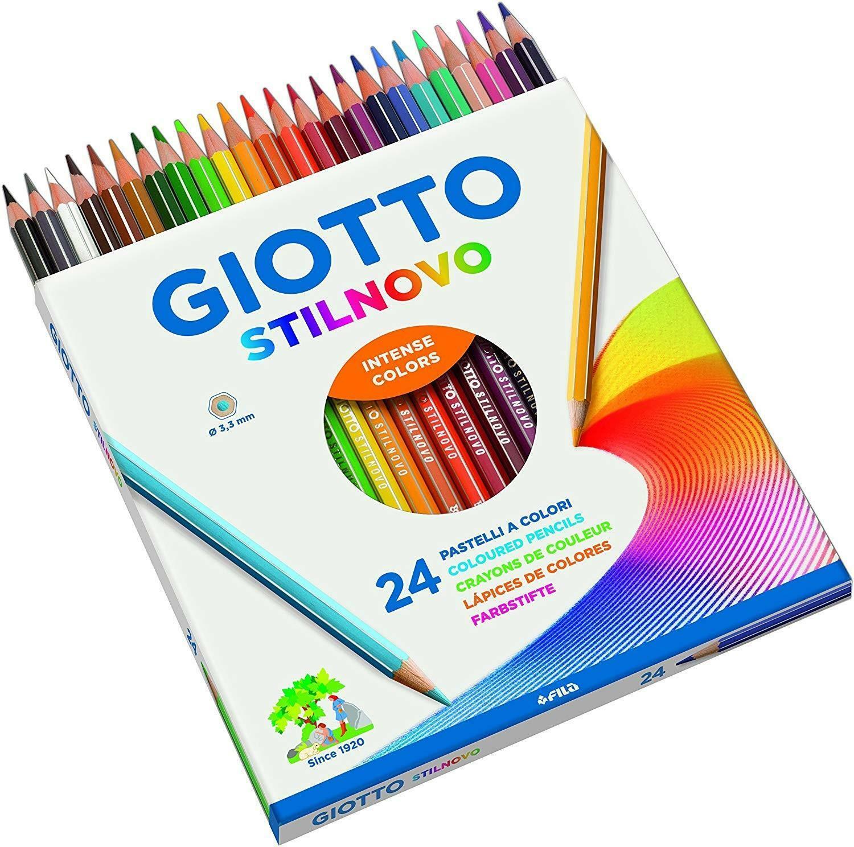 giotto giotto pastelli a colori stilnovo c.f. 24