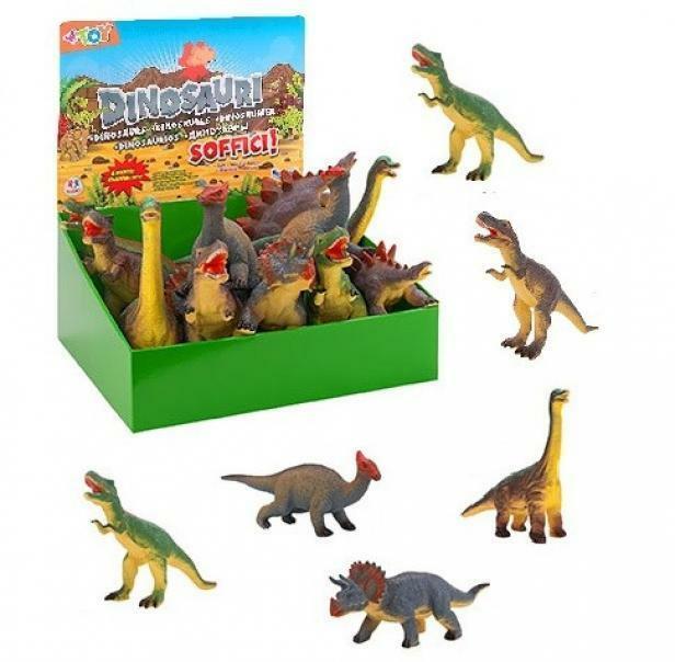 globo globo dinosauri soffici cm 35