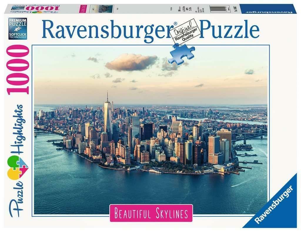 ravensburger ravensburger puzzle 1000 pz - skylines new york