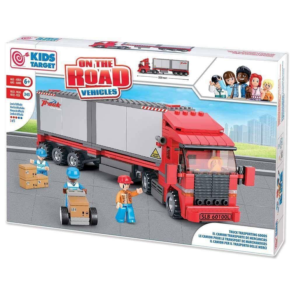 ronchi supertoys ronchi supertoys camion trasporto merci 345 pezzi