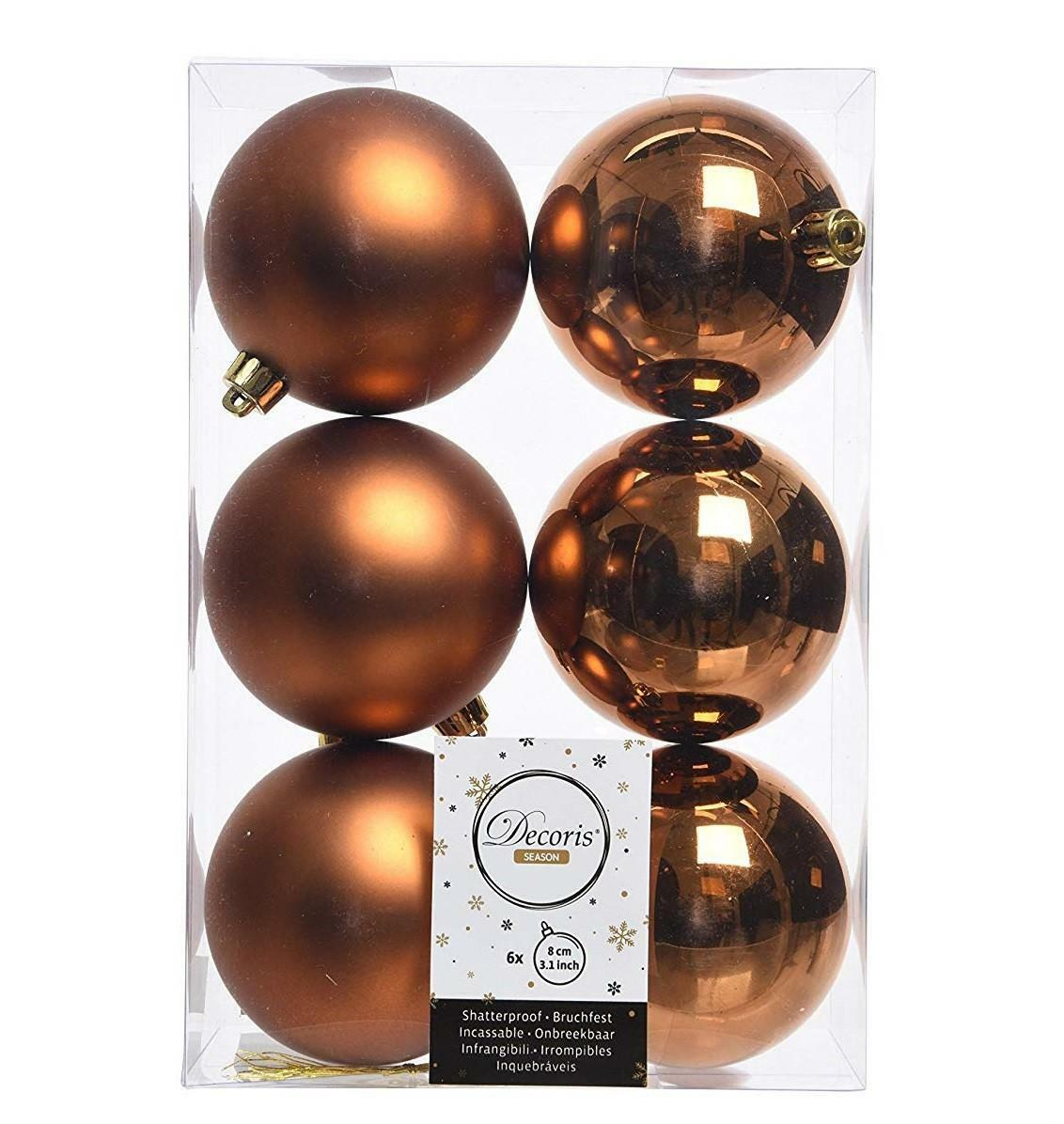 kaemingk kaemingk 6 palle 8 cm - colore marrone ruggine