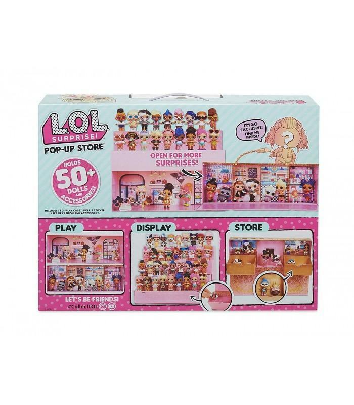 giochi preziosi lol surprise! pop - up store 3 in 1