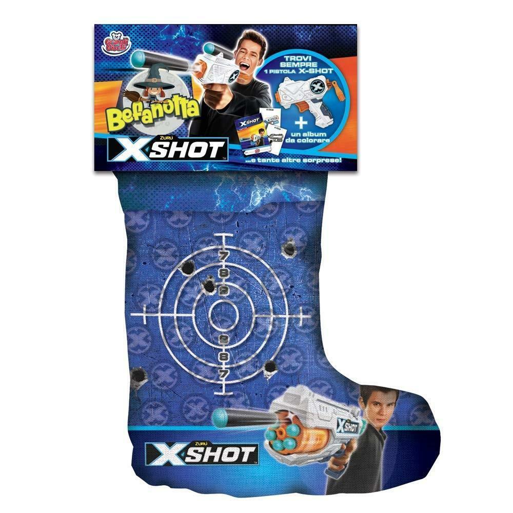 grandi giochi calza befanotta x-shot 2019