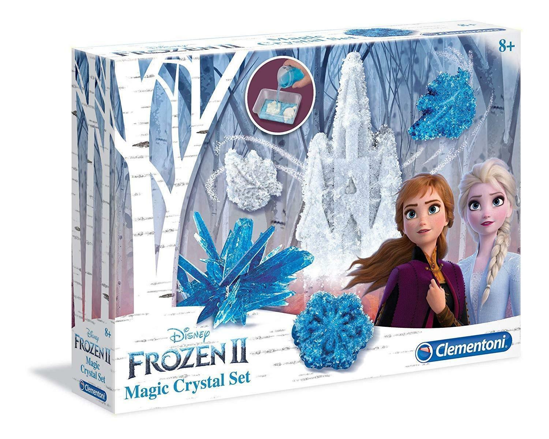 clementoni disney frozen 2-magic crystal set