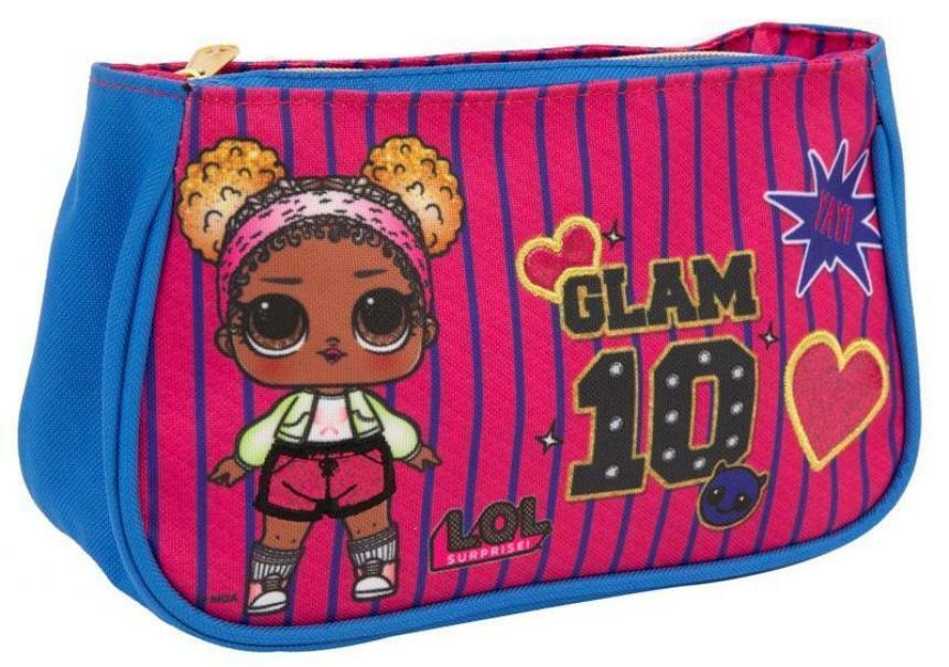 giochi preziosi lol surprise! beauty bag stripes glam