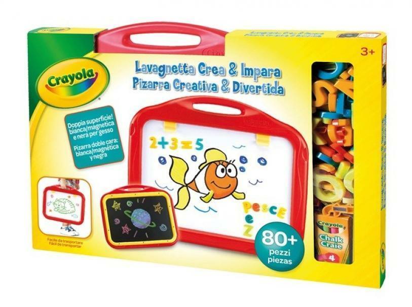 crayola lavagnetta crea & impara