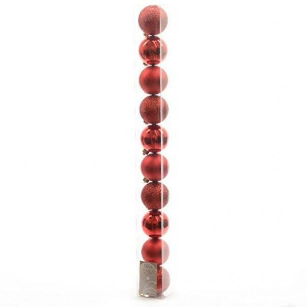 kaemingk kaemingk 10 palle r 6 cm - colore bordeaux