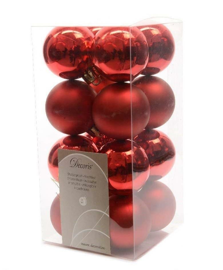 kaemingk kaemingk 16 palle r 4 cm - colore rosso