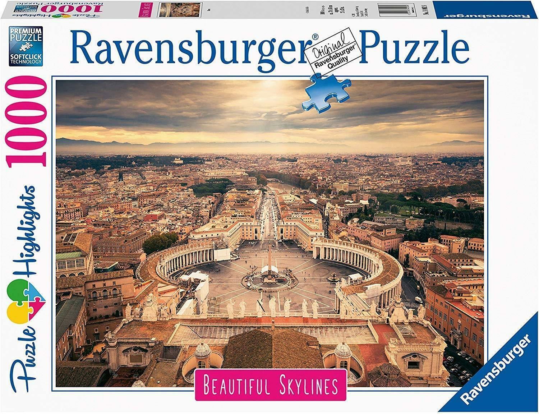 ravensburger ravensburger puzzle 1000 pz - skylines roma