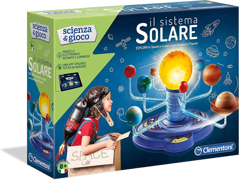 clementoni clementoni scienza & gioco - il sistema solare 19056