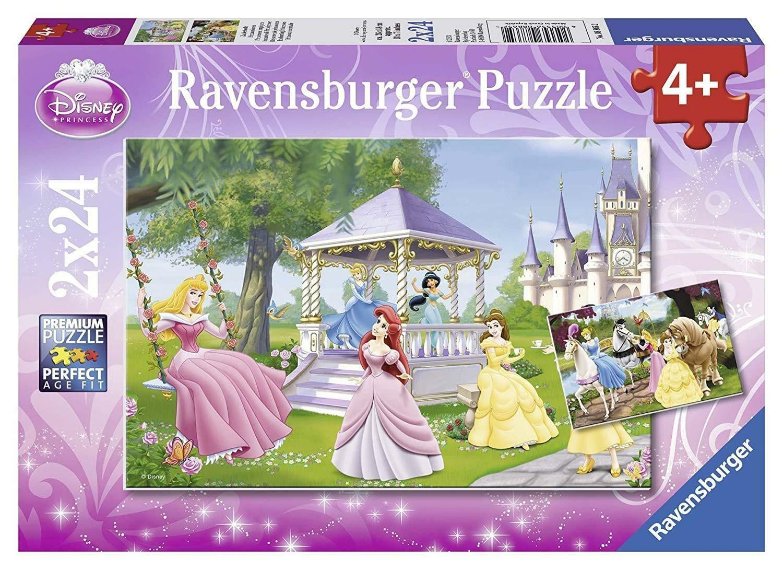 ravensburger ravensburger puzzle 2 x 24 pz - disney princess