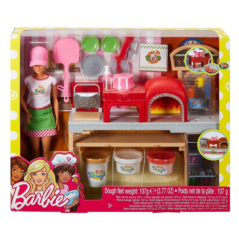 mattel mattel barbie - la pizzeria