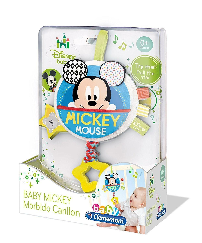 clementoni disney baby mickey morbido carillon 17211