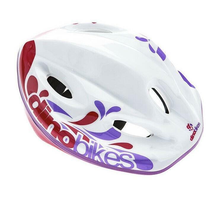 dino bikes casco little heart girl