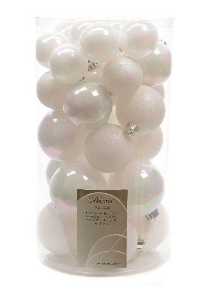 kaemingk kaemingk 30 palle r 4/5/6 cm - colore bianco perla