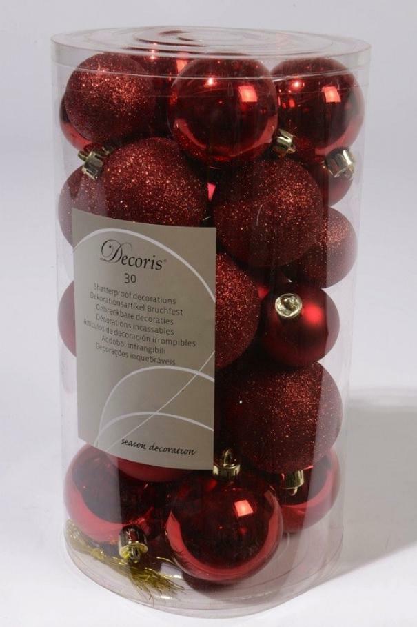 kaemingk kaemingk 30 palle r 4/5/6 cm - colore rosso