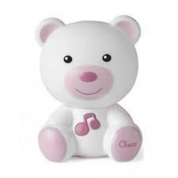 chicco chicco orsetto luce notte rosa