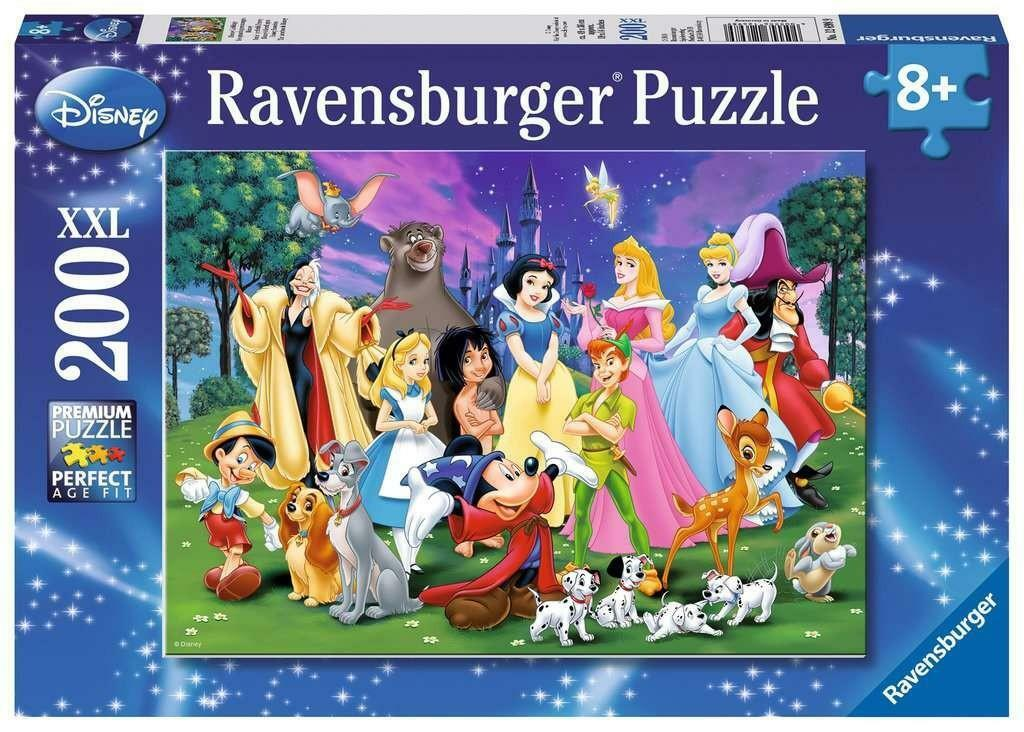 ravensburger ravensburger puzzle 200 pz xxl - i miei preferiti disney