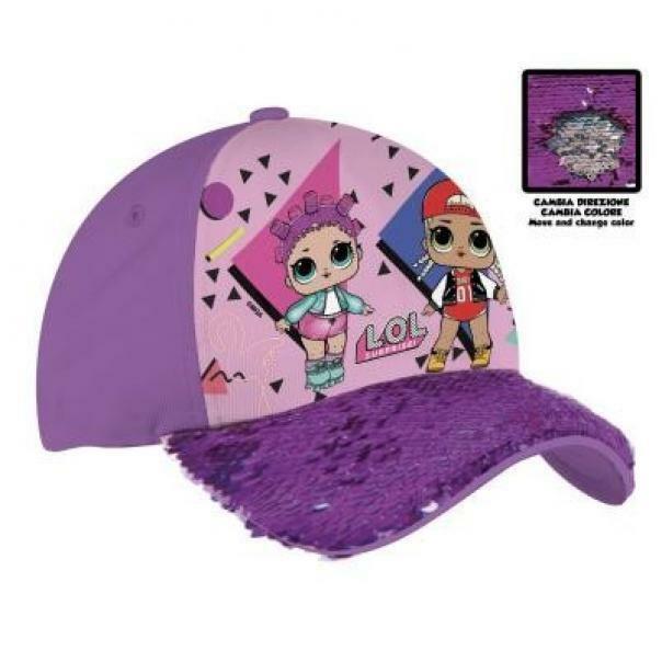 coriex coriex lol surprise! cappello con visiera girabrilla