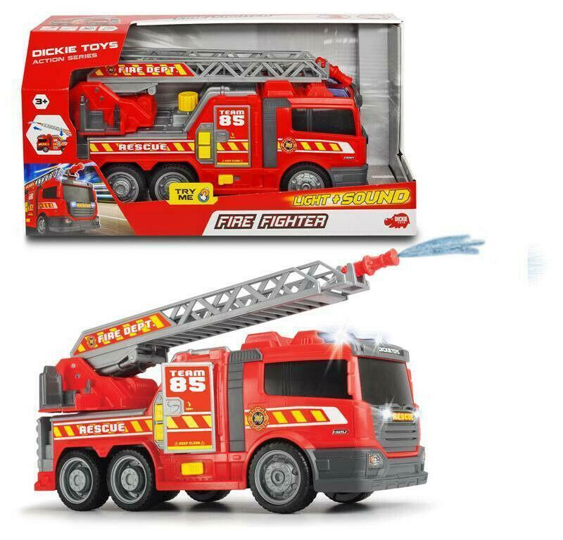 simba simba dickie toys camion vigili del fuoco luci e suoni