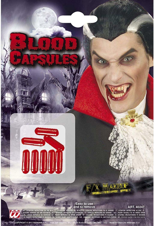 widmann widmann blister 8 capsule sangue liquido finto