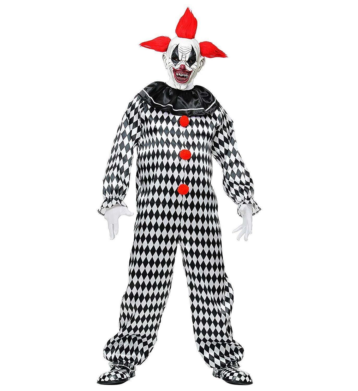 widmann widmann costume circus clown tg m adulto