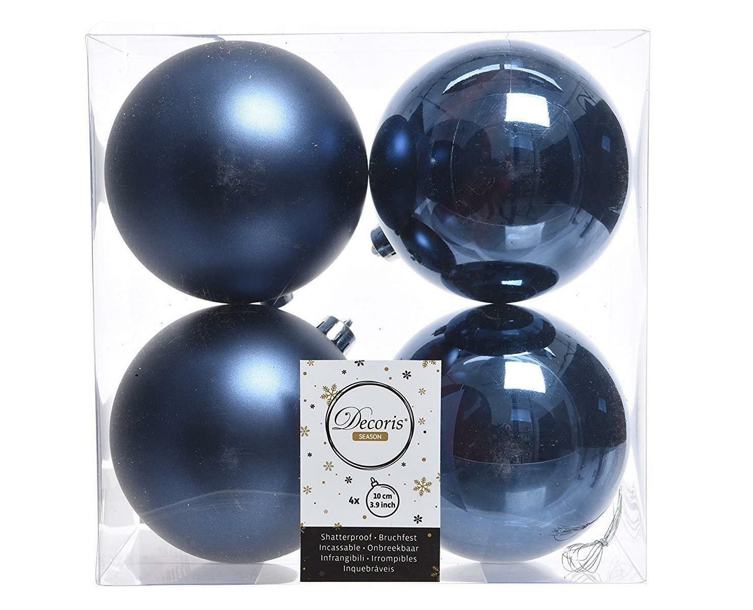 kaemingk kaemingk 4 palle r 10 cm - colore blu notte