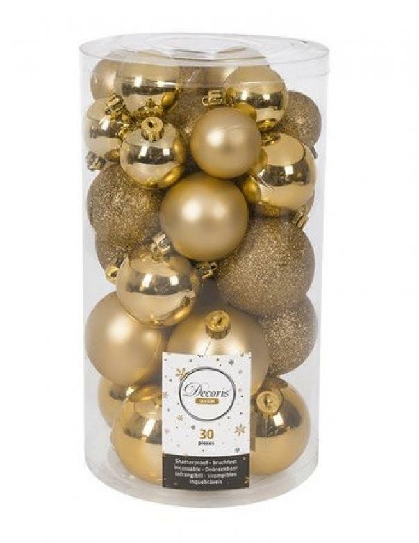 kaemingk kaemingk 30 palle r 4/5/6 cm - colore oro