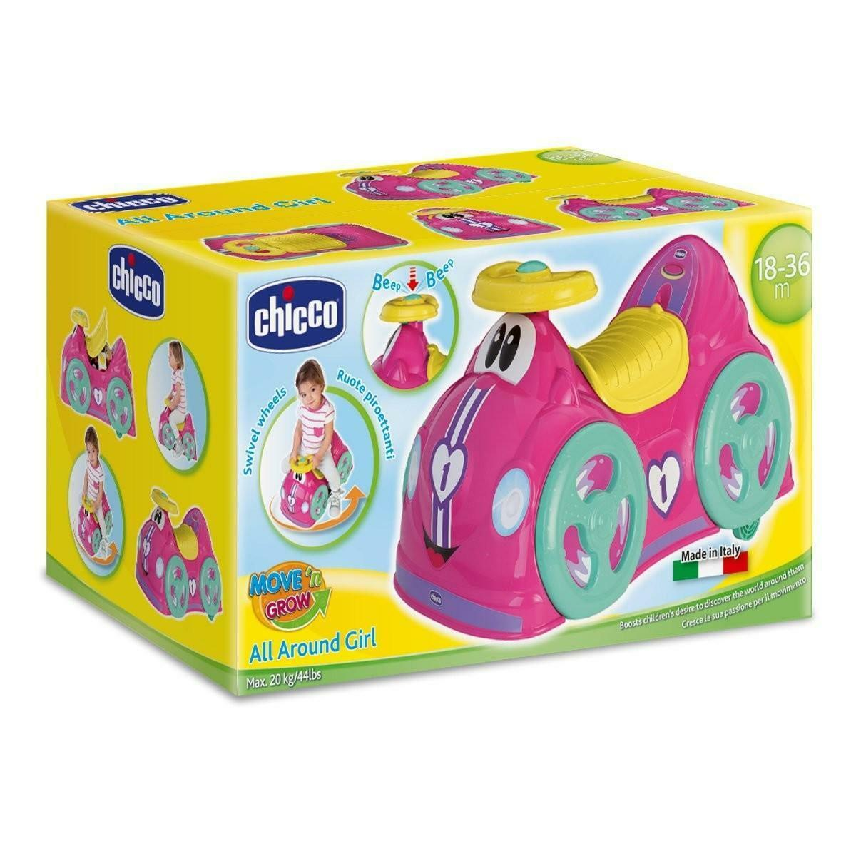chicco chicco all around girl rosa