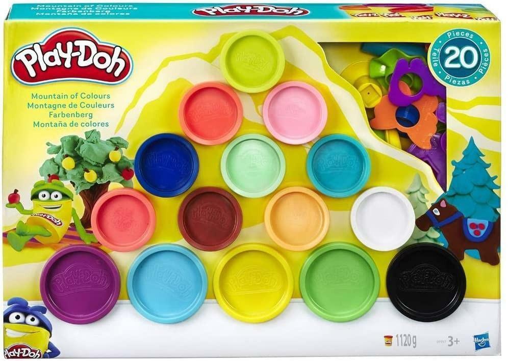 hasbro play-doh montagna di colori