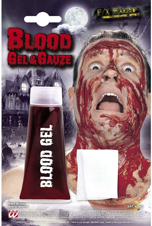 widmann widmann tubo sangue gel f/x make up