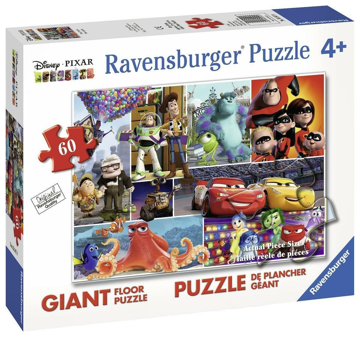 ravensburger ravensburger puzzle 60 pz - amici pixar