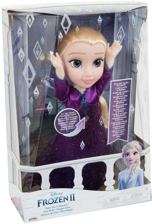giochi preziosi giochi preziosi disney frozen 2 bambola elsa cantante