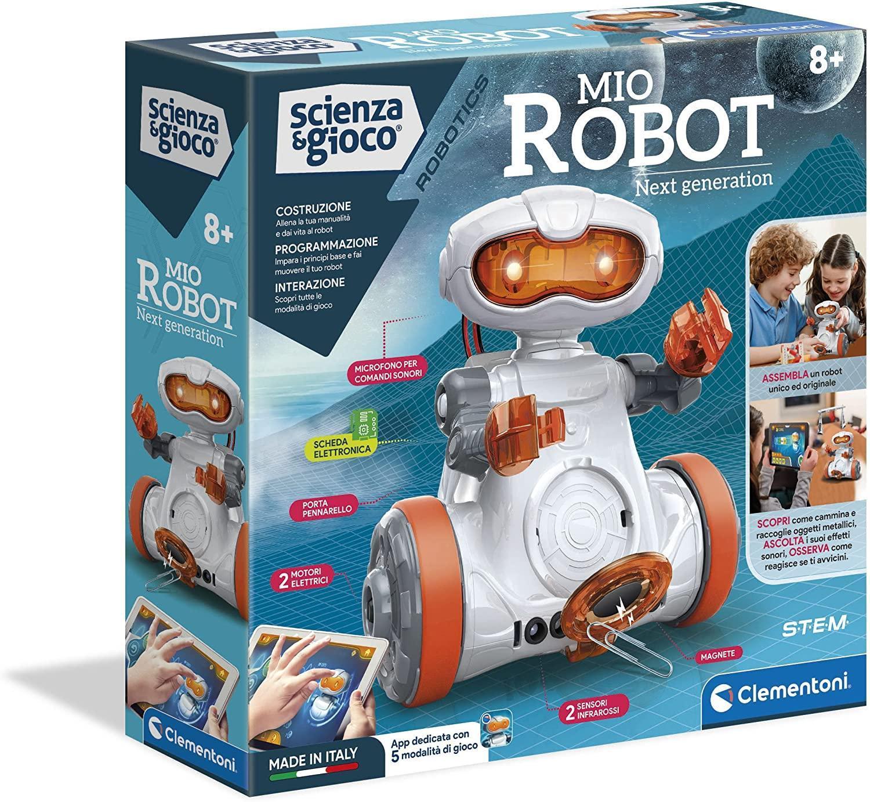 clementoni clementoni scienza e gioco 19112 - mio robot next generation