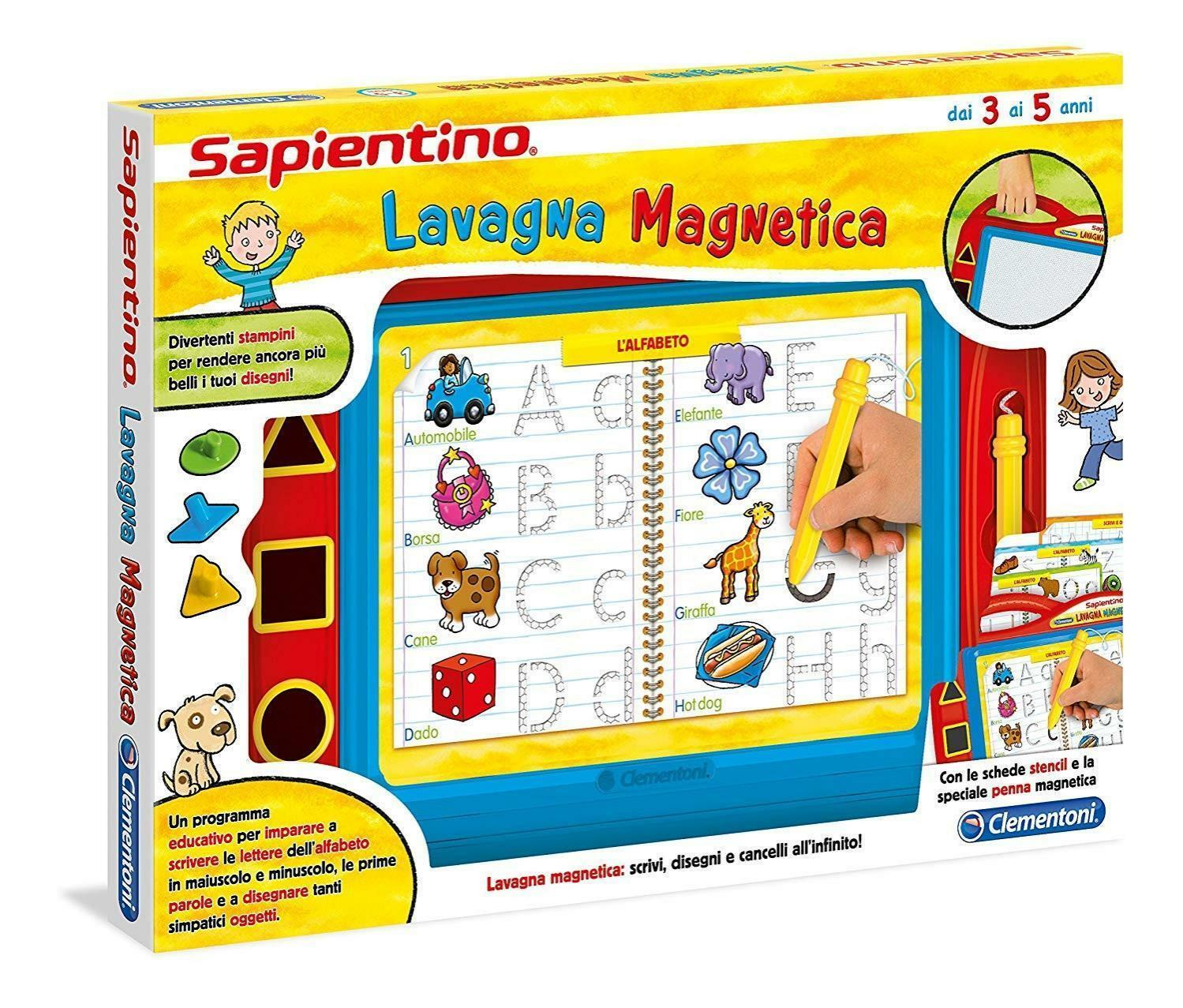 clementoni sapientino lavagna magnetica 12037