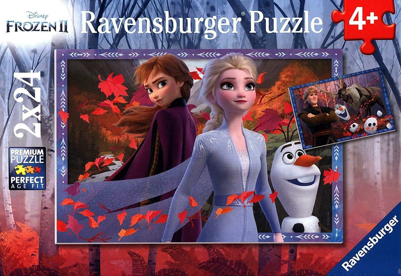 ravensburger ravensburger puzzle 2 x 24 pz - frozen ii