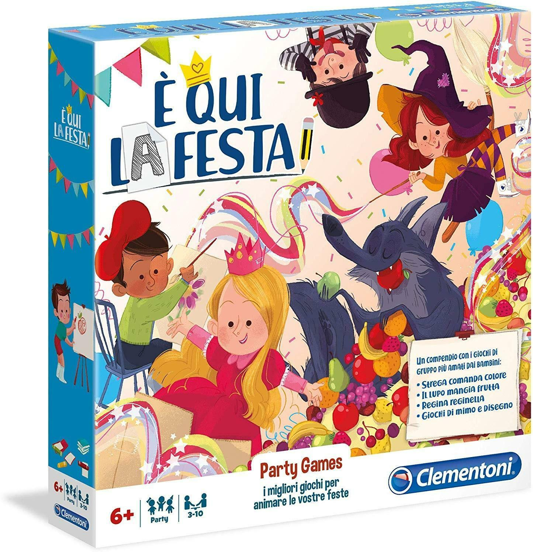 clementoni party games - c qui la festa 16154
