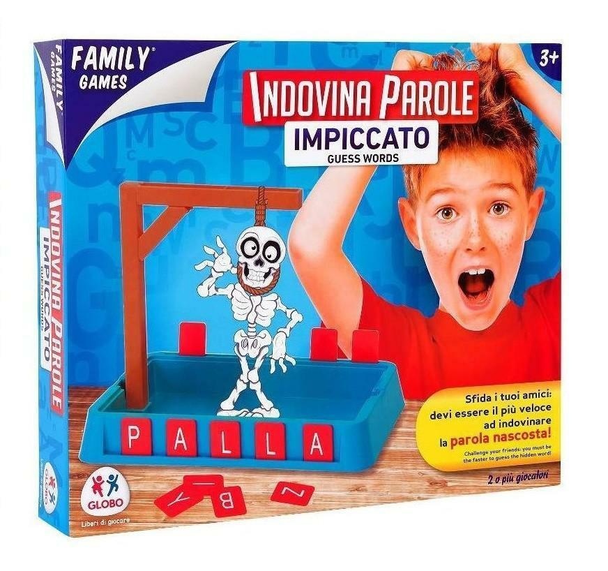 globo globo family games - gioco impiccato