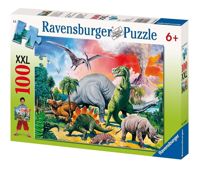 ravensburger ravensburger puzzle 100 pz xxl - dinosauri