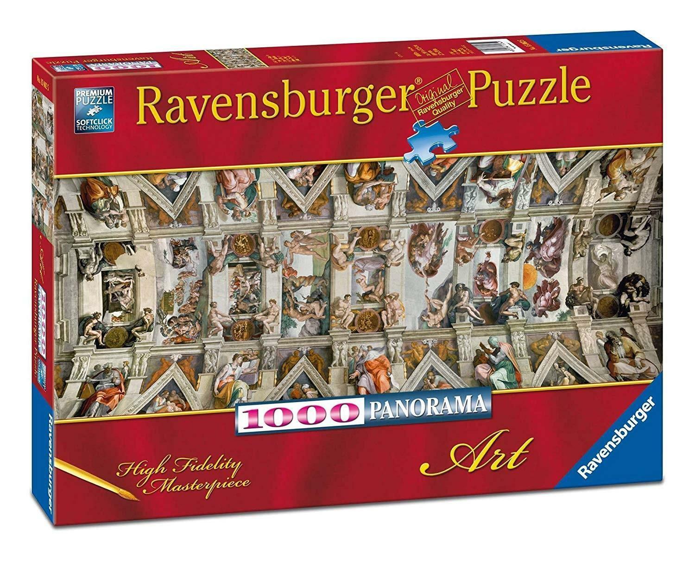 ravensburger ravensburger puzzle 1000 pz - cappella sistina