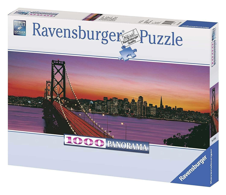 ravensburger ravensburger puzzle 1000 pz - san francisco al tramonto