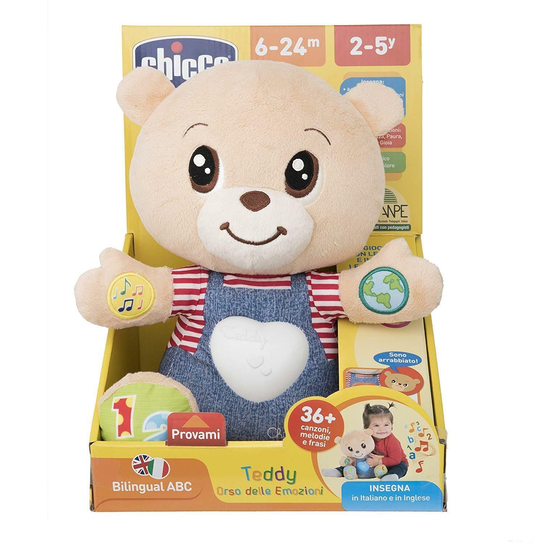 chicco gioco abc teddy orso emozioni