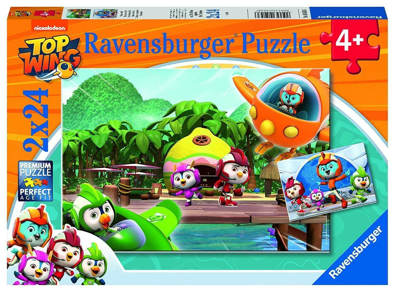 ravensburger ravensburger puzzle 2 x 24 pz - top wings