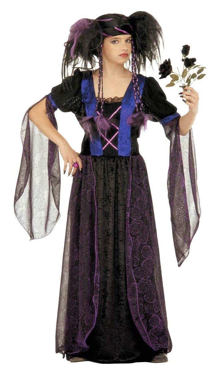 widmann widmann costume principessas gothica taglia 11/13 anni